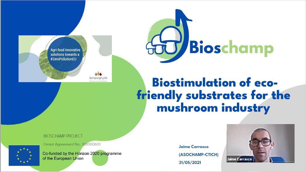 BIOSCHAMP presentation EU green week Zero Pollution